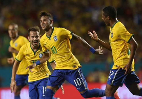 """Bị Colombia """"chặt chém"""", Neymar vẫn tỏa sáng - 2"""
