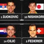 Thể thao - Cửa ải cuối cho Djokovic & Federer (BK US Open)