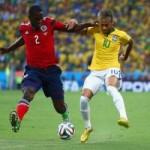"""Bóng đá - Bị Colombia """"chặt chém"""", Neymar vẫn tỏa sáng"""
