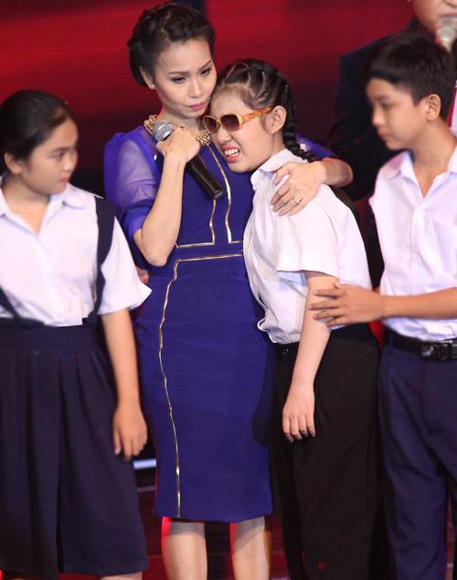 Cô bé khiếm thị khóc nức nở vì bị loại khỏi The Voice Kids - 3
