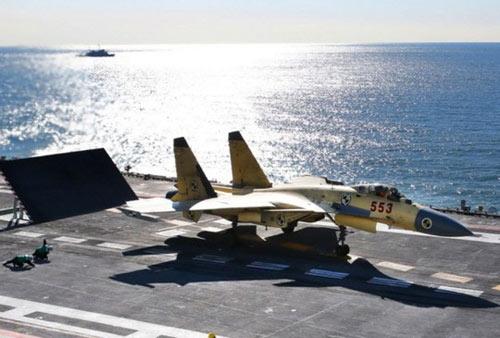 TQ: 2 phi công tử nạn khi thử nghiệm tàu sân bay - 1
