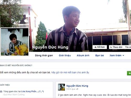 """Phạm nhân tung ảnh """"tự sướng"""" lên Facebook: Điện thoại nhặt được - 1"""