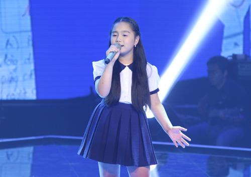 """Trò cưng Lam Trường khoe giọng """"khủng"""" tại The Voice Kids - 1"""