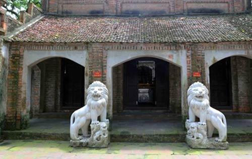 Hà Nội: Di dời 10 sư tử đá ra khỏi đền chùa - 1