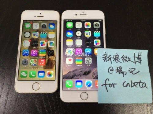Ảnh và video dùng thử iPhone 6 lộ diện trước giờ G - 1