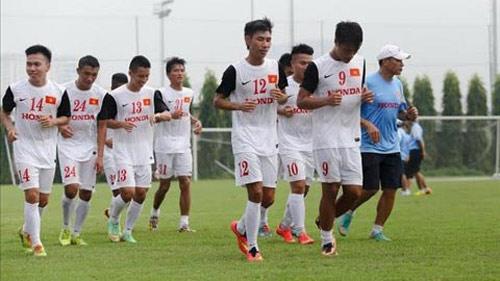 Olympic Việt Nam tiếp tục loại 7 cầu thủ - 1