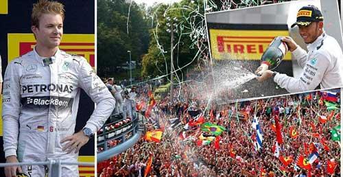 Italian GP: Ưu thế vượt trội - 1