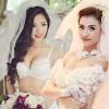 Mỹ nữ Việt gợi cảm với thời trang cô dâu
