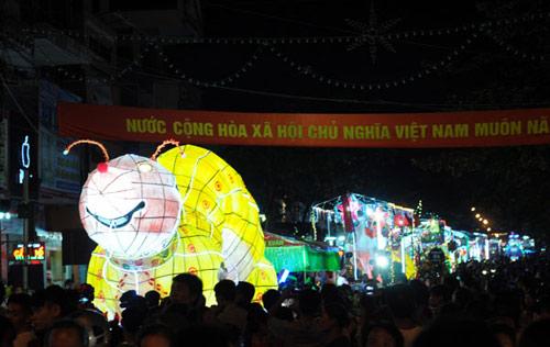 100 đèn lồng khổng lồ hội tụ ở đêm Trung thu lớn nhất VN - 3
