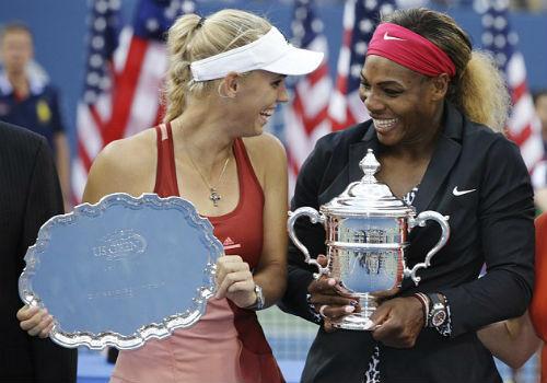 Serena nhảy nhót nhí nhảnh mừng danh hiệu US Open - 1
