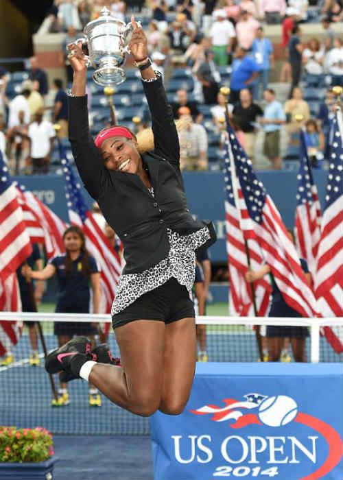 Serena nhảy nhót nhí nhảnh mừng danh hiệu US Open - 2