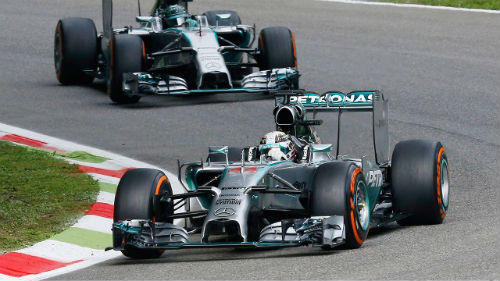 Italian GP: Quyết tâm của Hamilton - 1