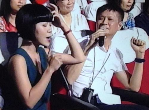Nữ MC chỉ trích ĐD Lê Hoàng gay gắt trên sóng trực tiếp - 1