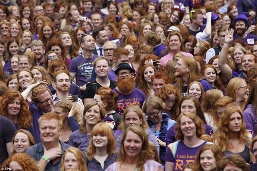 Rực rỡ ngày hội quốc tế tóc đỏ tại Hà Lan - 2