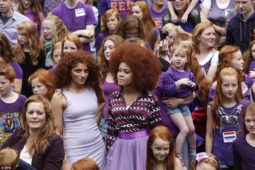 Rực rỡ ngày hội quốc tế tóc đỏ tại Hà Lan - 3