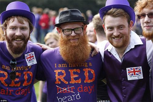 Rực rỡ ngày hội quốc tế tóc đỏ tại Hà Lan - 5