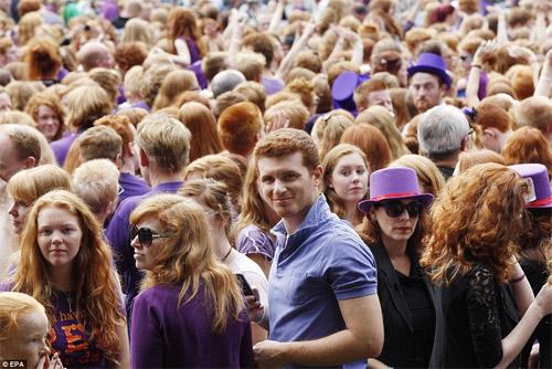Rực rỡ ngày hội quốc tế tóc đỏ tại Hà Lan - 4