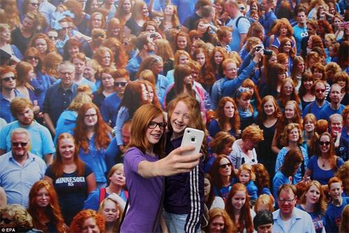 Rực rỡ ngày hội quốc tế tóc đỏ tại Hà Lan - 6