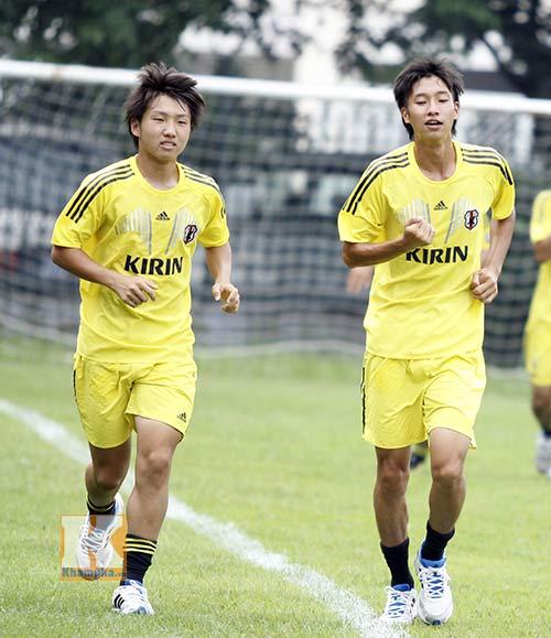 Dốc sức tập, U19 Nhật Bản không chủ quan với U19 VN - 2
