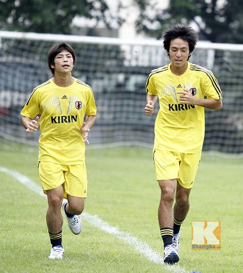 Dốc sức tập, U19 Nhật Bản không chủ quan với U19 VN - 1