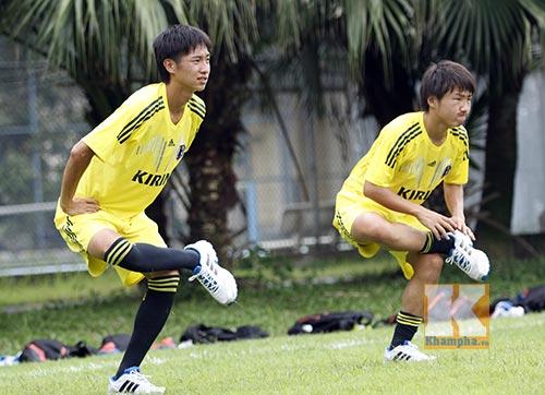 Dốc sức tập, U19 Nhật Bản không chủ quan với U19 VN - 3