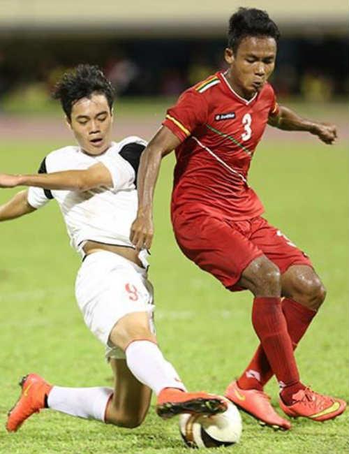 U-19 Myanmar thật đáng sợ - 1