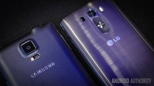 """Galaxy Note 4 vs LG G3: Hàng """"khủng"""" đối đầu - 10"""