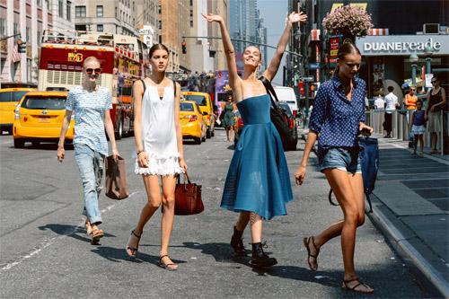 """""""Dân chơi"""" New York nhộn nhịp cùng thời trang - 1"""