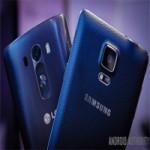 Galaxy Note 4 vs LG G3: Hàng  khủng  đối đầu