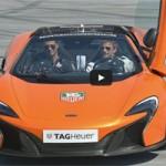 Ô tô - Xe máy - Cristiano Ronaldo đá bóng với siêu xe McLaren P1