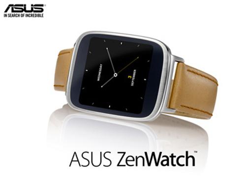 Đồng hồ thông minh Asus ZenWatch: Cổ điển và lịch lãm - 1