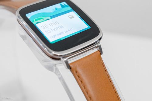 Đồng hồ thông minh Asus ZenWatch: Cổ điển và lịch lãm - 4