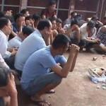 An ninh Xã hội - Gần 50 người trong trường gà bị trinh sát vây bắt