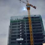 Tin tức trong ngày - Cháy cần cẩu tại công trường xây dựng căn hộ cao cấp