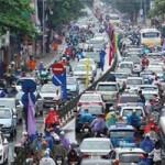 """Tin tức trong ngày - """"Ác mộng giao thông"""" ở Hà Nội lên báo Nhật"""