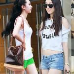 Thời trang - Thời trang đường phố mát mẻ của thiếu nữ Bắc Kinh