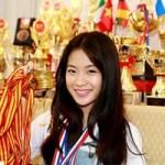 """Bạn trẻ - Cuộc sống - Bộ sưu tập thành tích """"khủng"""" của cô gái vàng Dancesport"""