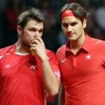 Thể thao - Federer sẽ sát cánh Wawrinka ở bán kết Davis Cup