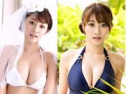 Làm đẹp - Vòng 1 siêu hấp dẫn của người mẫu nội y Nhật Bản