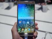 Trên tay Samsung Galaxy Note 4 vỏ kim loại