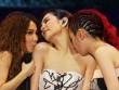 Những nụ hôn táo bạo của nhóm nhạc nữ Đài Loan S.H.E