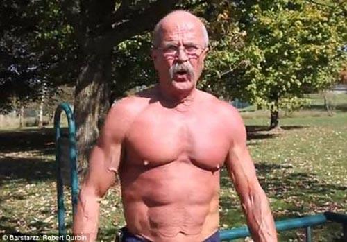 Kinh ngạc cụ ông 64 tuổi có cơ bắp cuồn cuộn như lực sĩ - 2