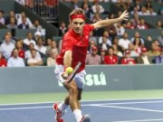 Thể thao - Tin HOT 15/9: Federer tiến gần giấc mơ Davis Cup