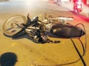 Tin tức trong ngày - Đập đầu xuống đường vì vướng dây cáp điện