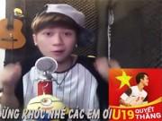 Bạn trẻ - Cuộc sống - Clip chế ca ngợi U19 Việt Nam của Vanh Leg