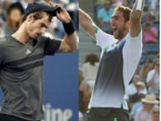BXH Tennis 15/9: Murray rời top 10, Cilic lên số 9