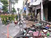 Tin tức Sony - Hiện trường vụ cháy nhà 7 người tử vong
