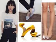 """Thời trang - Bộ sưu tập giày """"khủng"""" của ca sĩ Văn Mai Hương"""