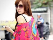Thời trang - Nổi bật với áo cánh dơi trên phố thu