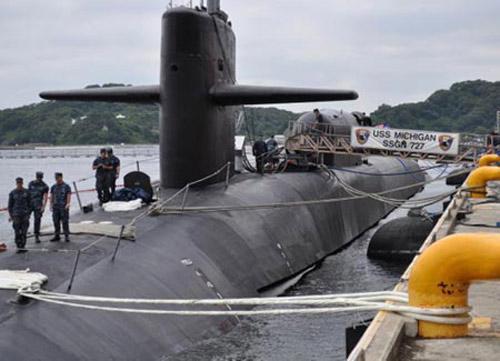 """Mỹ điều 2 tàu ngầm khủng tới """"trấn giữ"""" Biển Đông - 1"""